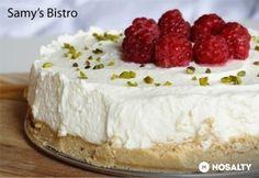 Expressz sajttorta - Express cheesecake recipe in Hungarian Hungarian Cake, No Bake Treats, Cheesecake Recipes, Vanilla Cake, Food And Drink, Sweets, Snacks, Cookies, Baking