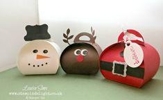 Con un poco de papel y un molde crea bellas cajitas para obsequiar pequeños detalles en Navidad. Son hermosas ideas nada complicadas, requieren poco material, son económicas y sobre todo son una muestra de que cuando regalas lo haces con el corazón, esperando hacer felices a las personas que reciben el detalle. Materiales: Cartulinas lisas … Christmas Holidays, Christmas Crafts, Christmas Ornaments, Sorry Messages For Girlfriend, December 25, Craft Fairs, Stampin Up, Origami, Crafts For Kids