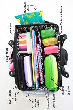 Road Trip bag idea..