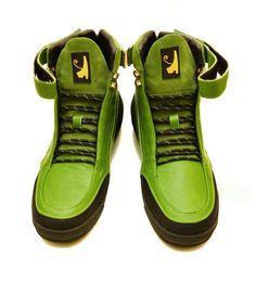 Negash Hotep 3.0  Boot Green (Limited King Kush Edition) - Negash Apparel & Footwear - 2