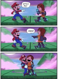 It's a Mii, Mario