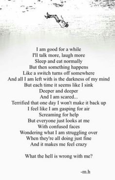 I'm fine for a while