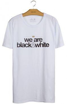 Osklen - T-Shirt Stone Vintage Black & White Mc - Osklen