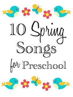 10 Preschool Spring Songs | Laptime Songs