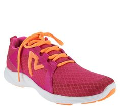 Get ready to take on the world in these Vionic mesh lace-up sneakers. QVC.com