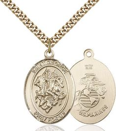 Bonyak Jewelry 18 Inch Rhodium Plated Necklace w// 6mm Red July Birth Month Stone Beads and Saint Dominic de Guzman Charm
