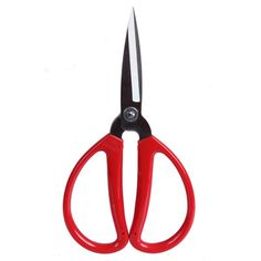 """Craft Scissors Size: 7.75"""" Red Handled"""