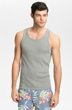 Each of our tank tops cut and sewn to fit the modern man, not too tight and not too loose. #sixthreads #tank #tanktop #mensfashion #summerfashion http://sixthreads.com/collections/3-pack-tank-tops