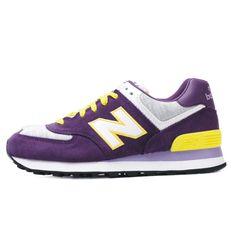 2013 color verdadero hit de moda ligero zapatillas mujer zapatillas de deporte púrpura 574
