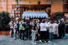 Sorbillo pizza in Naples via an American in Rome