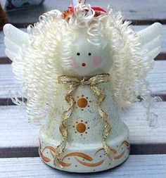 Flower Pot Angel Tute