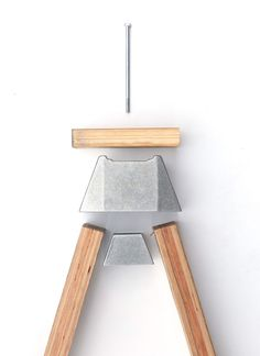Henry Wilson A-Joint fit 2x4s to make stools, benches, tables. sand cast