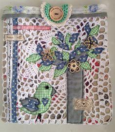 little bag for iPad or bible - handmade by Nicolene Scott