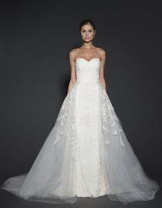 Najpiękniejsze suknie ślubne na wiosnę 2016 - Naeem Khan - Zeberka.pl