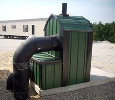 Installing an outdoor wood burning furnace or outdoor wood boiler ...