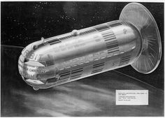 During the 1950s, Darrell C. Romick, a Goodyear Aircraft engineer and an early member of the American Rocket Society's spaceflight committee, presented several visionary papers. He outlined a future world of ion propulsion, re-usable launch vehicles, manned lunar missions and permanently occupied orbital colonies
