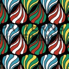 Drops by Ilana Vähätupa   #patternsfromagency #patternsfromfinland #pattern #patterndesign #surfacedesign #printdesign #ilanavahatupa