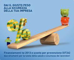 Bando INAIL.  Scarica l'e-book gratuito sul Bando ISI 2013: contributi INAIL fino a 130.000 euro alle imprese che investono nel miglioramento della salute e sicurezza sul lavoro. Scadenza 8 Aprile 2014!