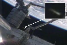 UFOLOGIA - OVNIS ONTEM: Mais um UFO próximo a Estação Espacial, Câmera ao ...