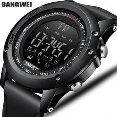 f2146ea71 BANGWEI Sports Mens Smart Watch Men Pedometer Calories Waterproof Smartwatch  Electronic Wrist Watches For Men Digital Bluetooth.