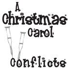 CHRISTMAS CAROL Conflict Graphic Organizer - 6 Types of Conflict  NOVEL = Christmas Carol by Charles Dickens LEVEL = middle school (junior high), high school (secondary) COMMON CORE = CCSS.ELA-Literacy.RL.2  Middle and highschoolers will subconsciously enjoy the design of this one-page graphic organizer as they take notes on the 6 different types of conflict.