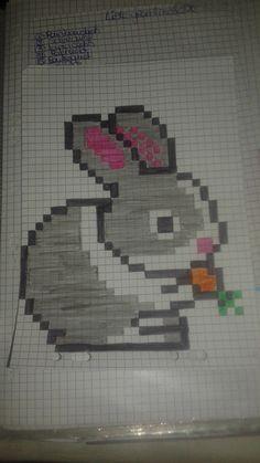 Lapin Carotte Dessin Pixel Pixel Art Et Dessin Pixel Facile