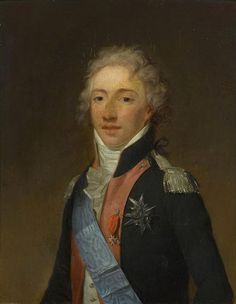 Louis Antoine Duc d'Angouleme,1796 by Henri-Pierre Danloux. (http://jeannedepompadour.blogspot.co.uk/2012/03/princesses-these-four-savoyard.html?m=1).