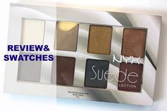 @nyxcosmetics Suede Collection