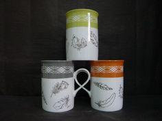 Mugs à plumes