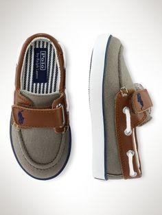 Sander Leather-Trim Boat Shoe - Toddler Toddler 4-10 - RalphLauren.com