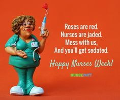 Greet Your Fellow Nurses With These Nurses Week Greeting Cards #nursebuff #nursesweek #happynursesweek #nursesweekgreetings