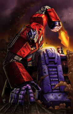 Optimus prime is good friends with doctor claire green a counselor