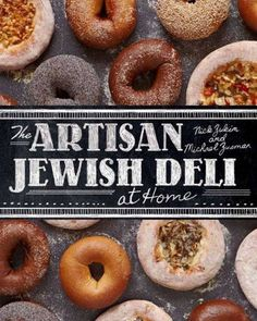Book Review - The Artisan Jewish Deli at Home -