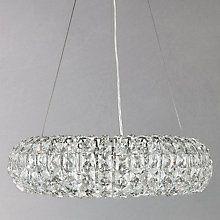 Buy john lewis samantha ceiling light online at johnlewis buy john lewis bangles medium pendant light crystal and chrome online at johnlewis aloadofball Images