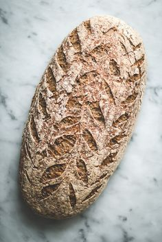 seeded gluten free vegan sourdough bread