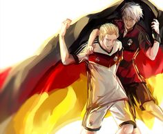 West and East at the World Cup :)