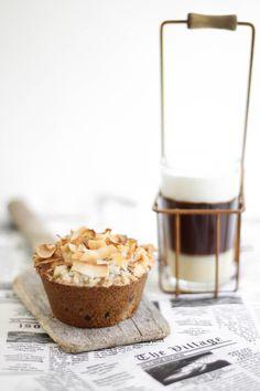 coconut cappuccino muffins