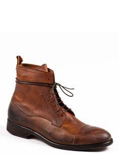 Sartori Mens Boot 3513 // Lighter Brown // Slim + Tight Laces