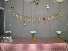 Pirate Hooks & Pixie Dust: Country Chic Bridal Shower