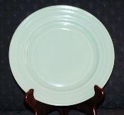 Hazel Atlas Moderntone Platonite Pastel Green Dinner Plates