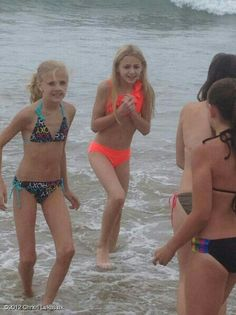 Haha, I remember this! The water was so cold! ~ Paige