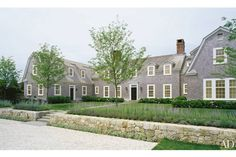 Ferguson & Shamamian Architects traditional gambrel roof shingle style in Nantucket
