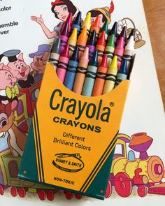 127 Best Vintage Coloring Books Crayons Images Coloring
