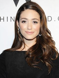 Emmy Rossum - Shiny Golden Brown