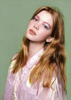 iridescent sheer blouse | ban.do