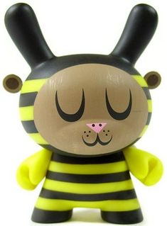 Bumble bee Dunny by Amanda Visell