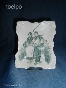 Zsolnay Antik tálka Ritka - 17000 Ft