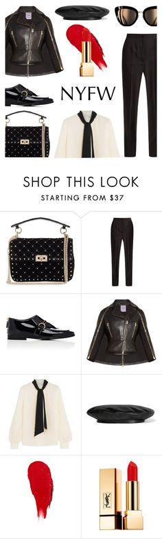 """""""NTFW"""" by keepfashion92 ❤ liked on Polyvore featuring Valentino, Dolce&Gabbana, STELLA McCARTNEY, Hervé Léger, Lanvin, Gucci, Rodin and Yves Saint Laurent"""