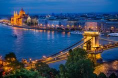 "Classic scene of the river Danube in Budapest by - <a href=""http://dleiva.com/"" rel=""nofollow"">dleiva.com/</a>"