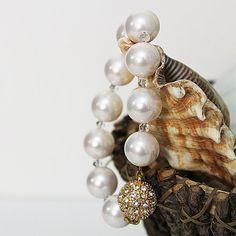 Large Mother of Pearl Bracelet